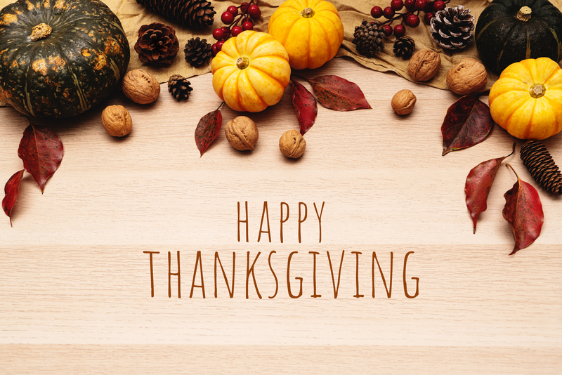 IMESD Closed for Thanksgiving